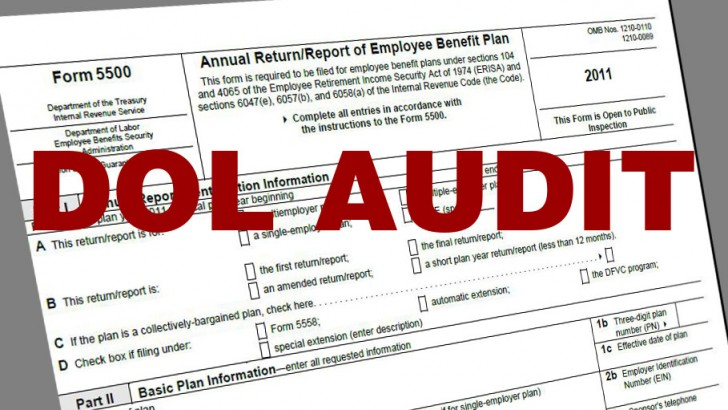 Form 5500 Schedule Mistakes: Can They Lead to A DOL Audit?